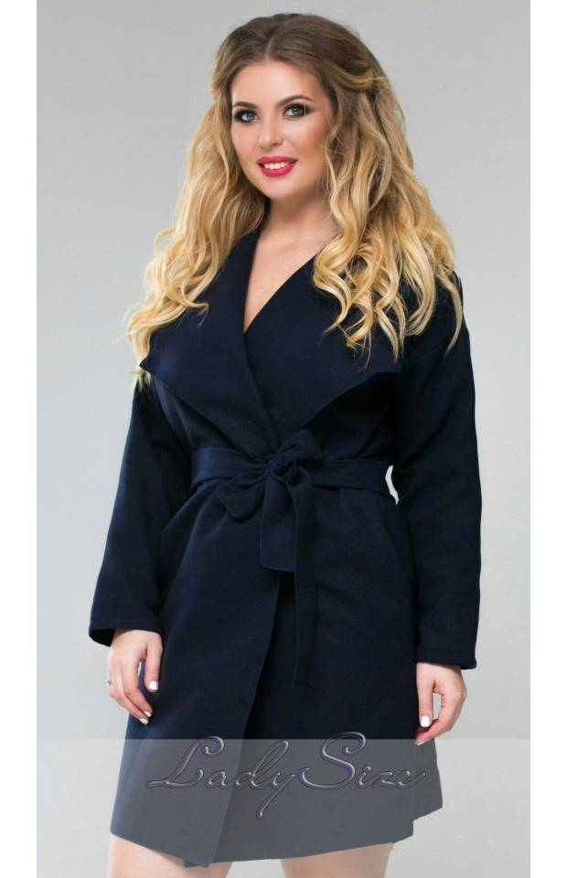демисезонные пальто больших размеров