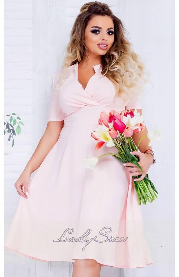 летнее коктейльное платье
